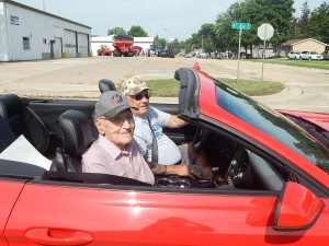 July 4th - King Wes with Driver Dean